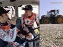TractorGP: Marc Marquez vs. Dani Pedrosa max. Fun