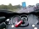 Traffic Attack! Suzuki Hayabusa and Suzuki B-King!