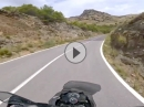 Traum: Alto de Velefique, Andalusien, Almeria, Spanien onboard