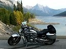 Traumstraßen Jasper National Park Medicine Lake Virtual motorcycle riding Canada
