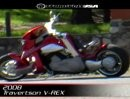 Traverston V-Rex - Concept Motorcycle Review