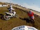 Travis Baker onboard Lake Elsinore 2012 Lucas Oil Pro Motocross Championship