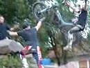 """Trial Motorrad Stunt Kregeloh - perfekt """"eingeparkt"""""""