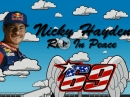 Tribute to Nicky Hayden from Minibikers - Rest in Pease