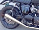 Triumph Bonneville 2in1 Auspuffanlage von SC-Projekt