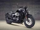 Triumph Bonneville Bobber Black - düster, böse, kraftvoll