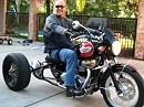 Triumph Bonneville T100 Custom Trike