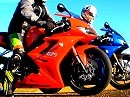 Triumph Daytona 675 2009 vs 2008 - MCN Roadtest