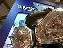 Triumph Messestand Eicma 2011 - Rundgang
