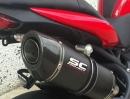 Triumph Speed Triple 1050, 3in1 Auspuffanlage von SC-Project