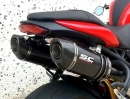 Triumph Speed Triple 1050 3in2 Auspuffanlage von SC-Project - sehr geile Optik