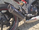 Triumph Speed Triple 1050 Carbon Conic Auspuffanlage von SC-Project