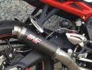 Triumph Street Triple 675 - GP M2 Auspuffanlage von SC-Project