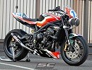 Triumph Street Triple 675 R - GP M2 Exhaust 3-1 SC-Projekt, Bargy Design