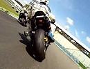 Lauf 2 Triumph Street Triple-Cup Hockenheim 2012 - Onboard unterschiedlicher Fahrer - würdig