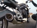 Triumph Street Triple mit SC-Project Conic - geiler Sound