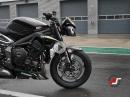 Triumph Street Triple RS - Straßenbike vs Rennmotorrad von Asphalt Süchtig