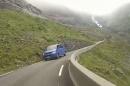 Trollstieg (Norwegen) 2014 von Norden her hoch