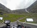 Trollstigen (Norwegen) Auffahrt 2014: Schöne Kurven, tolles Wetter