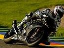 Troy Corser und Ruben Xaus testen BMW S1000RR Superbike in Valencia