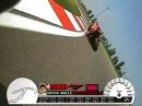 Misano - Troy Corser vs Noriuki Haga on board camera with GPS telemetry overlay