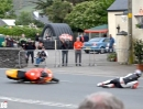 TT 2013 - Isle of Man: Ballaugh Bridge 'Fliegende Titan Eier'