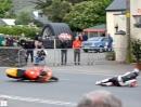 TT 2013 - Isle of Man: Ballaugh Bridge 'Fliegende Titan Eier'