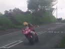 TT 2013 Isle of Man just after the Cronk y Voddy - Brennraum fluten