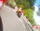 TT 2013 - Isle of Man: Ryan Kneen Supersport Race2 - der Brennraum kocht