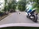 Krank: TT2018 Onboard James Hillier, Kawasaki, Superbike Rennen - Nagel im Kopf