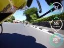 TT2018 Supersport Race 2 onboard GyroCam Honda CBR 600, Bjorn Gunnarsson