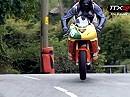 TTXGP 2009 auf der Isle of Man - Racing mit Elektro Motorrädern