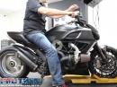 Turbo Ducati Diavel - 237 PS Leistungsdiagramm vom Dyno