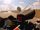 Übel: Lenkerschlagen | Kickback, Suzuki keilt aus, geiler Save