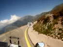 Über den Höhenrücken der Transalpina bis kurz vor Novaci