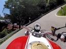Über den Passo Durone Richtung Tenno See mit Ducati Monster