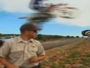 Polizeikontrolle geile Logik Springen erlaubt, fahren verboten!