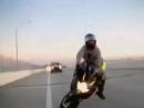 Überholt, Bremse, Dreck und Crash ... so schnell gehts