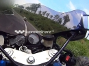 Übern Leithaberg gebraten Yamaha YZF 750R chasing YZF R1