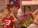 Überraschung: Marc Marquez trifft seinen fünfjährigen Fan Valentino - geile Aktion!