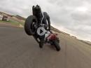 Übler Crash - innen reingezogen, überbremst, abgeflogen und abgeräumt