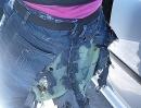Kevlar-Jeans on Eis: Übler Motorradunfall auf dem Eis -