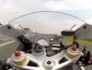 Übles Lenkerschlagen bei BMW S1000RR - gibt braune Streifen in der Kombi