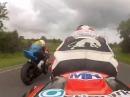 Ulster GP 2015 onboard - geht mächtig vorwärts - Optimark Road Racing Team