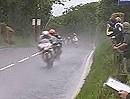 Ulster Grand Prix. Ist das Wetter auch beschissen, egal es wird am Hahn gerissen