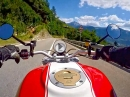 Ultental / Lana Kurventraum mit Ducati Monster