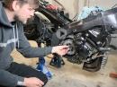 Umbau Kupplung auf Seilzug, Suzuki GSXR 1000 K7 - Tutorial von MotoTech