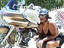 ... und wenn es zu einer Harley NICHT lang: Gazelle mit grazilen Bewegungen und Anmut