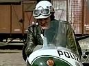 """""""Polizeifunk ruft"""" mit Motorradpolizist Waldemar Hartmann - Kultserie der ARD"""