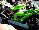 """Rundgang"" Kawasaki ZX10-R Ninja Intermot 2011"